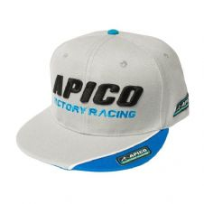 APICO FACTORY RACING SNAPBACK CAP GREY
